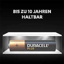 Duralock-tekniken ger oanvända Duracell-batterier upp till 10 år la