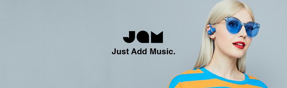 JAM Audio, JAM, Jam Earbuds, Bluetooth слушалки, слушалки с микрофон
