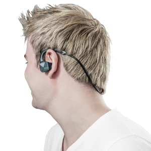 Trust 22501 Urban Auricolari Wireless Bluetooth Sport Nero