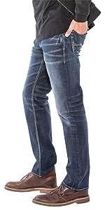 ALLAN CLASSIC FIT STRAIGHT LEG