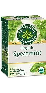 Traditional Medicinals Organic Spearmint Herbal Tea