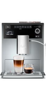Melitta CAFFEO Ci, Plata-Máquina de café, 1500 W, 1.8 litros ...