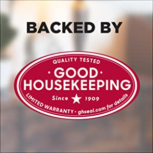 Backed By Good House Keeping