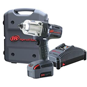 Ingersoll Rand W7150-K1, 1/2 Inch High-Torque Impact Wrench 1 Battery Kit
