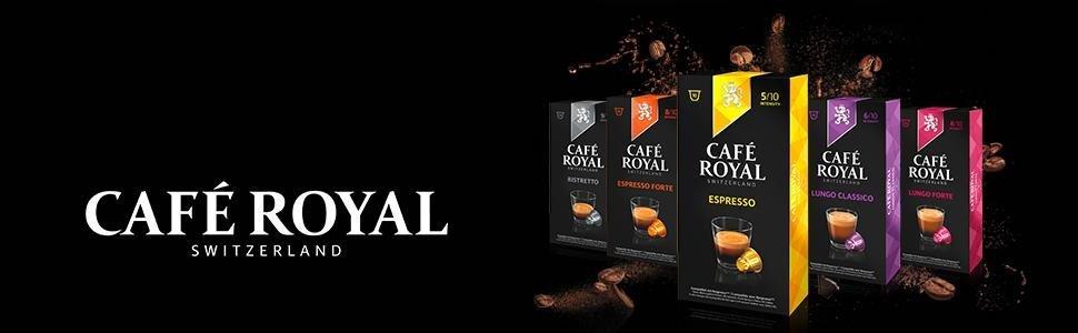 Cafe Royal Cápsulas Compatibles con Nespresso