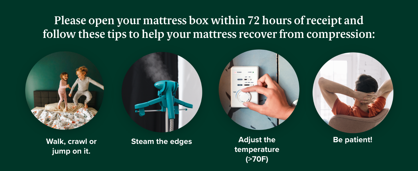 How to Decompress Your Mattress
