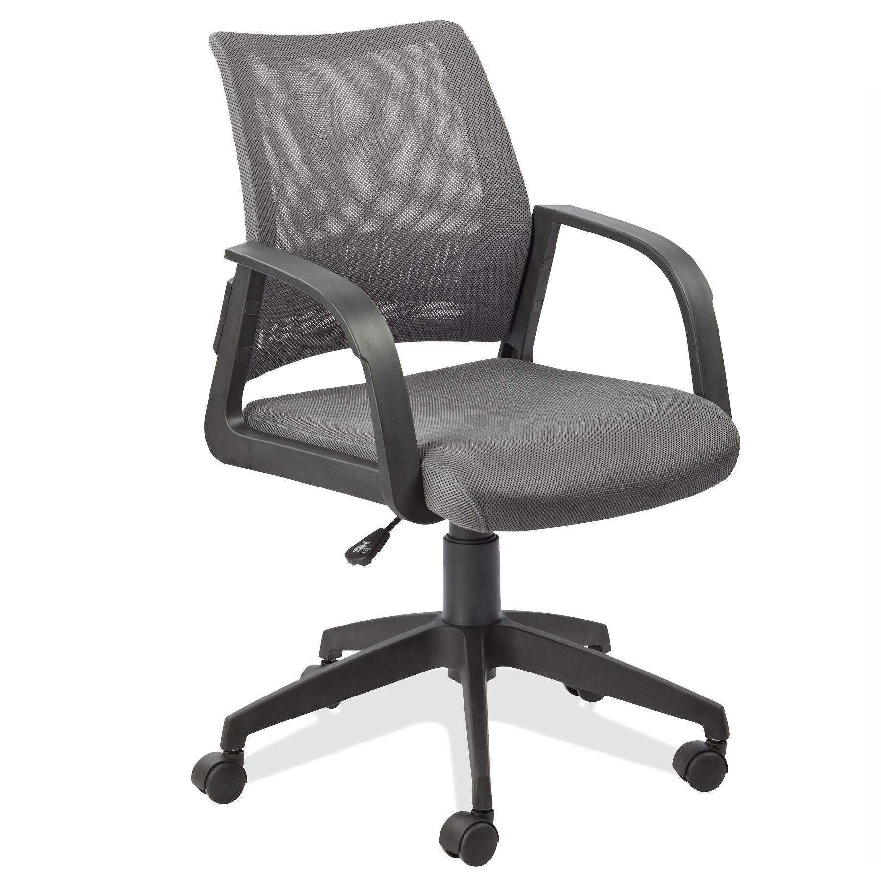 Amazon Leick Gray Mesh Back fice Chair Kitchen & Dining