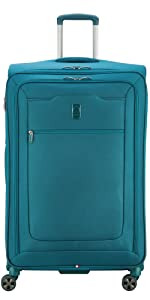 delsey paris luggage hyperglide 29 inch large checked spinner