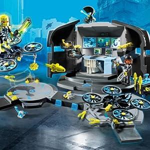 Centre Du Commandement DrDrone9250 De Playmobil xQrCtshd