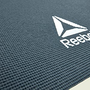 Amazon.com: Reebok Esterilla de yoga, Verde Oscuro, 4 mm ...