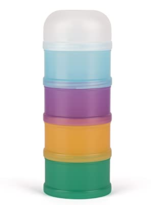 Suavinex - Dosificador de Leche en Polvo y Cereales. Con 4 Compartimentos. Apto Para Lavavajillas