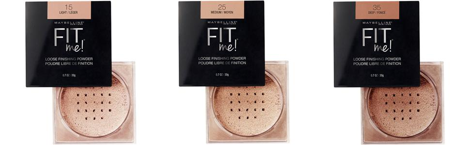 Fit Me Loose Finishing Powder by Maybelline #20