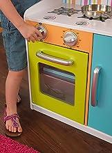 53378 Cocina Madera En Kidkraft Brillantes De Colores Juguete YW92EDIH