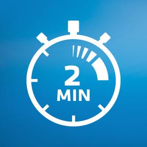 Temporizador de 2 minutos con Oral-B Pro 750 CrossAction
