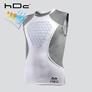 d0b1bb99 Amazon.com : McDavid HEX Chest Protector, Heart-Guard / Sternum ...