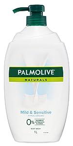 Mild & Sensitive Hypoallergenic Body Wash
