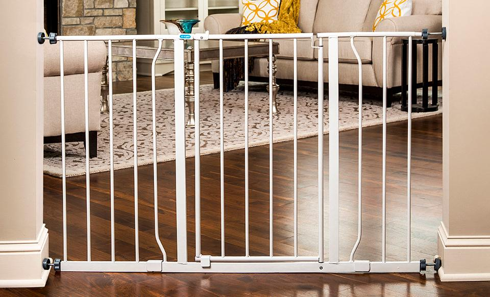 With Safety In Mind, The Regalo Easy Open Baby Gate Can Be An Essential  Tool For Containing Your Wandering Toddler.