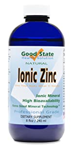 ionic zinc, liquid zinc, zinc supplement