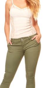 slant pocket jeans