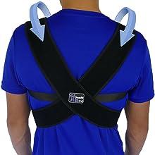 Back of ComfyMed Posture Corrector Brace CM-PB16