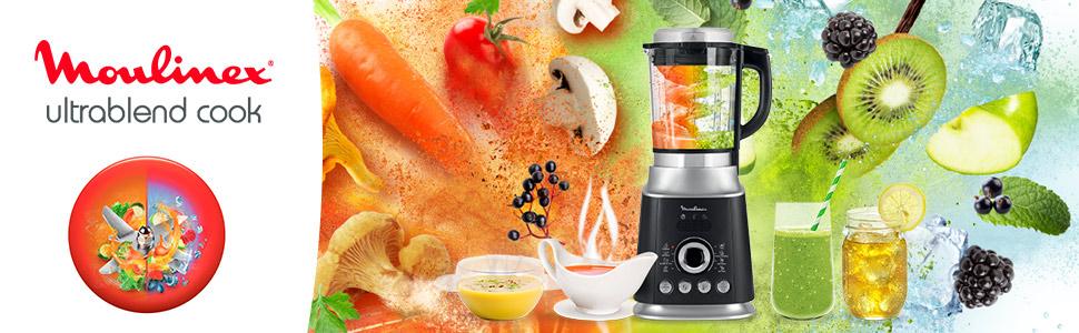 Batidora de vaso Ultrablend Cook Moulinex