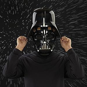 Star wars darth vader mascara darth vader star wars last jedis action figure figura de ação