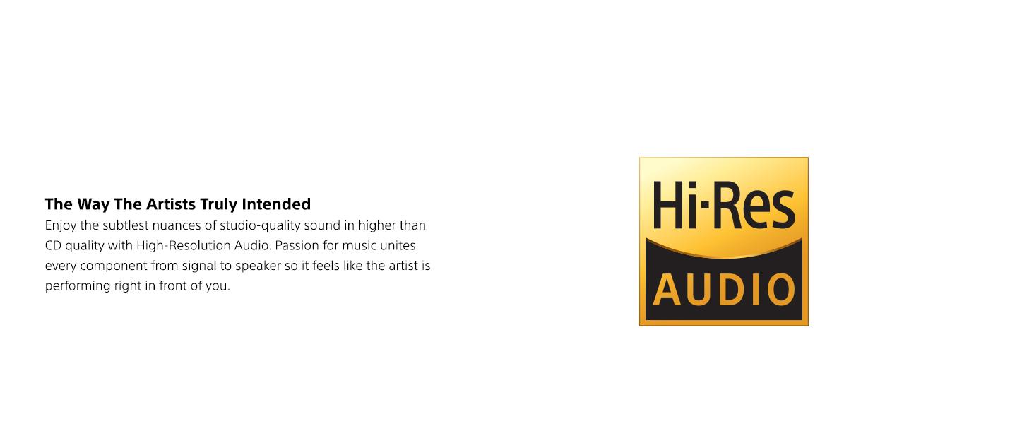 Hi-Res Audio