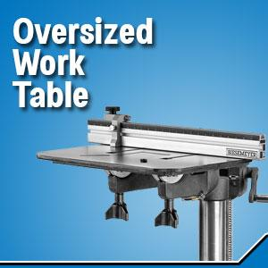drill press work table, work table