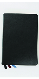 nkjv kjv king James version new bible black leather reference leather English