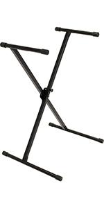 IQ-X-1000 Single-Braced Keyboard Stand