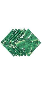 banana leaf napkin