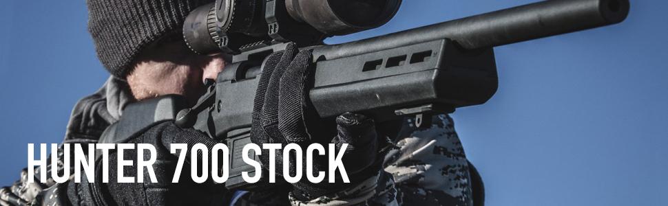Magpul Hunter 700 Remington 700 Short Action Stock, Black