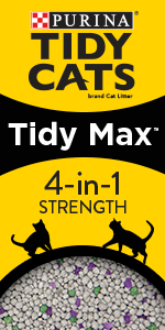 Tidy Cats Tidy Max 4 in 1 Cat Litter package