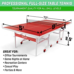 foldable regulation full size table tennis compact home indoor apartment pong table tennis game kids