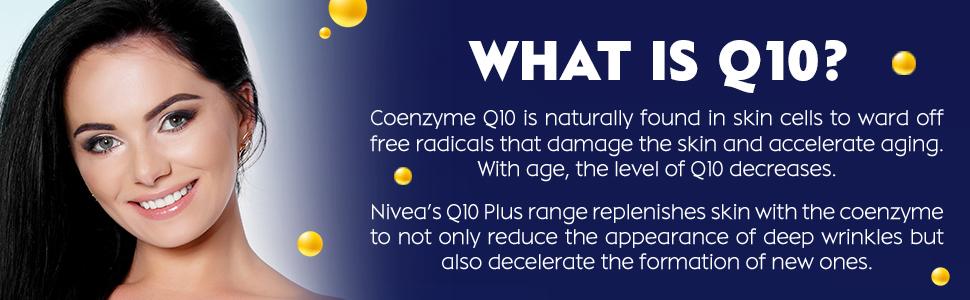 nivea face q10 range, q10 conezyme, antiaging, anti-wrinkle