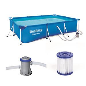 Bestway 56411 Piscina Steel Pro Pool Set