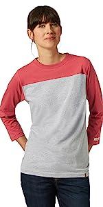 RIGGS Workwear 3/4 Sleeve Performance T-Shirt