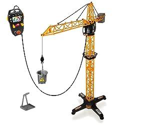 Dickie Giant Crane elektrischer Spielzeug Kran ferngesteuert 100 cm hoch Kinder
