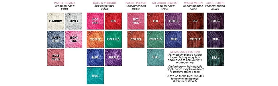 Amazon Keracolor Color Plus Clenditioner Hot Pink 12 Ounce