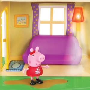 peppa pig;lights and sounds family home;toys;playsets;figures;george pig;peppa pig
