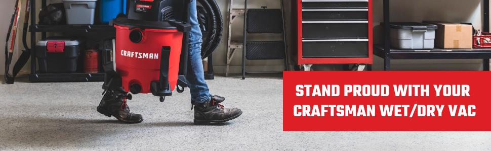 CRAFTSMAN shop vac wet dry vacuum floor attachment accessory brush dust portable reach cleaner