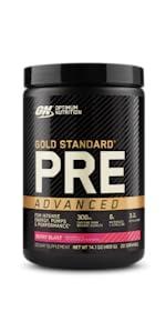 Gold Standard Pre Workout Advanced, preworkout advanced, pre-workout advanced, optimum nutrition, ON
