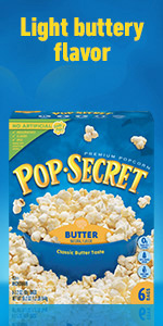 POP SECRET Butter Popcorn Box