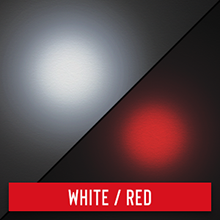 fixed beam red white
