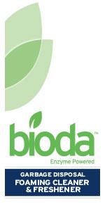 Bioda, Enzyme Powered, Garbage Disposer, Cleaner, Freshener
