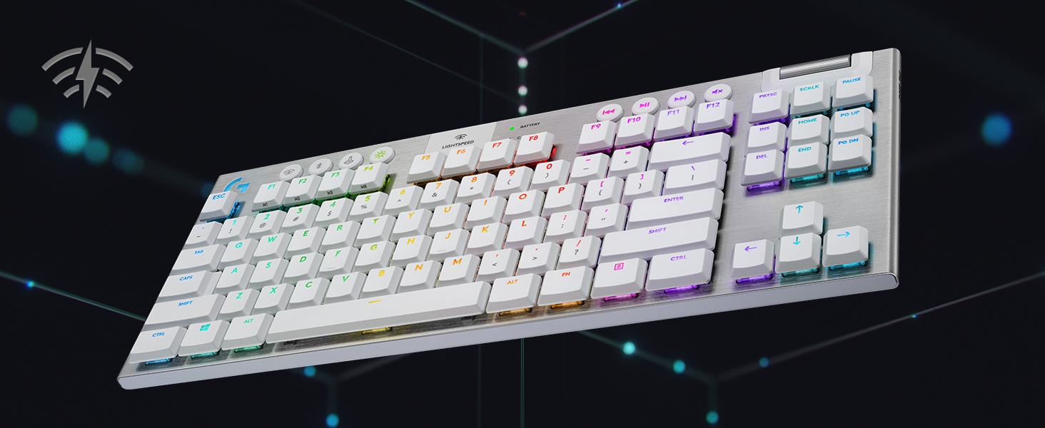 G915 TKL White Gaming Keyboard