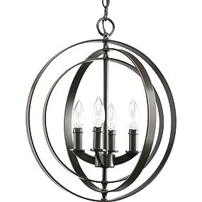 Amazon.com: Progress iluminación p3827 – 20 4-Light Sphere ...