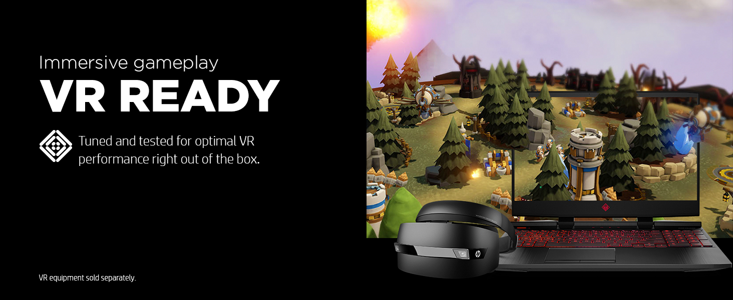 VR virtual reality capable ready immersive gameplay