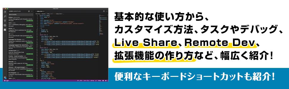 カスタマイズ方法 拡張機能の作り方 LiveShare RemoteDev