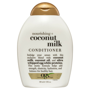Ogx organic haircare shampoo conditioner best haircare products hair treatment nourishing coconut